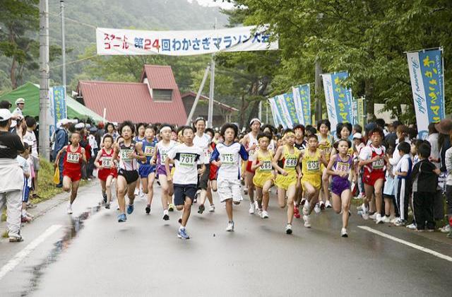 【2020年中止】わかさぎマラソン大会