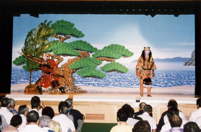 福浦の歌舞伎