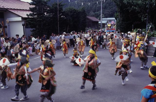 金ヶ沢鶏舞