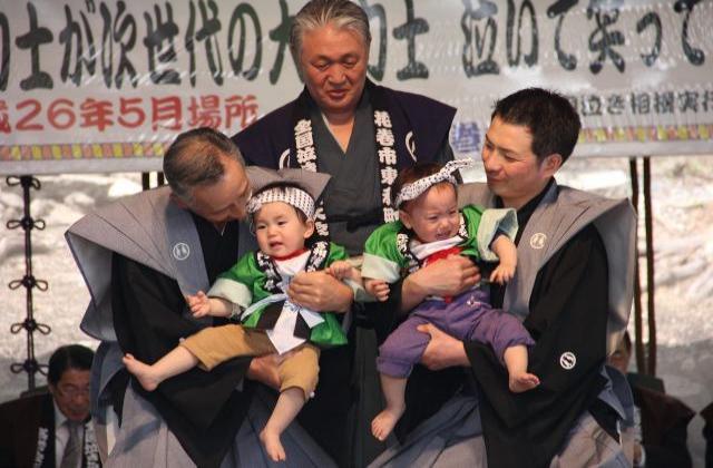 【2021年開催中止】毘沙門まつり・全国泣き相撲大会