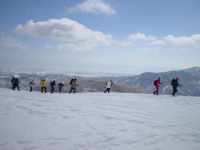 夏油高原スノーシューハイキング2021