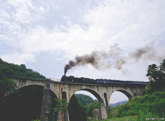 めがね橋(岩手県遠野市)
