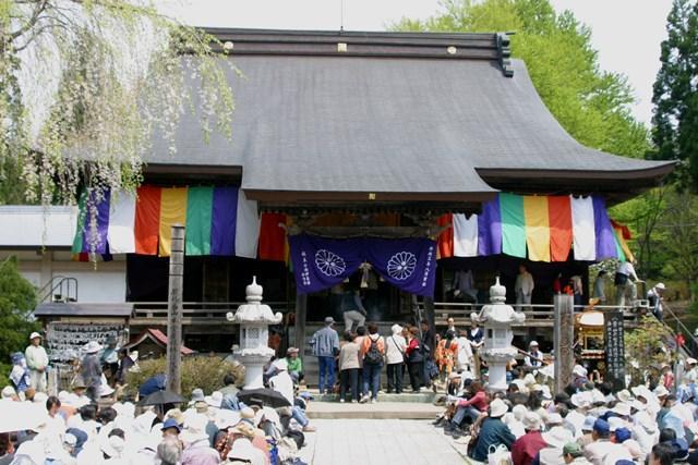 天台寺秋の例大祭