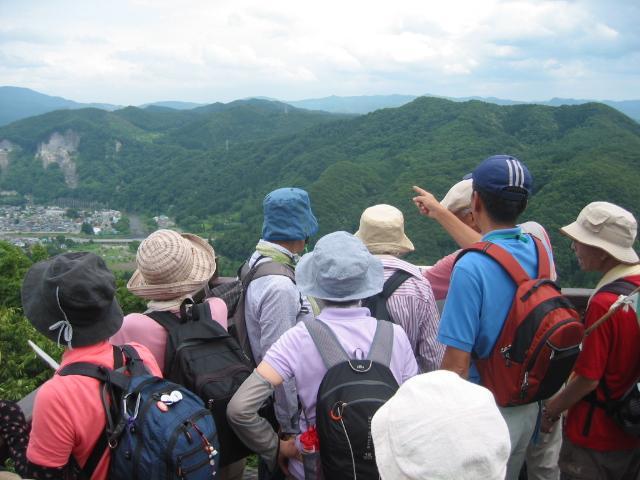 馬仙峡ハイキングコース