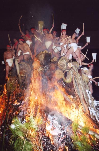 伊手熊野神社蘇民祭