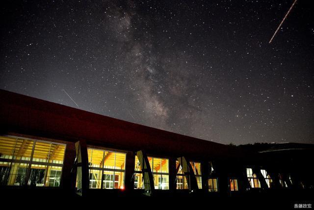 くずまき高原牧場からの夜空