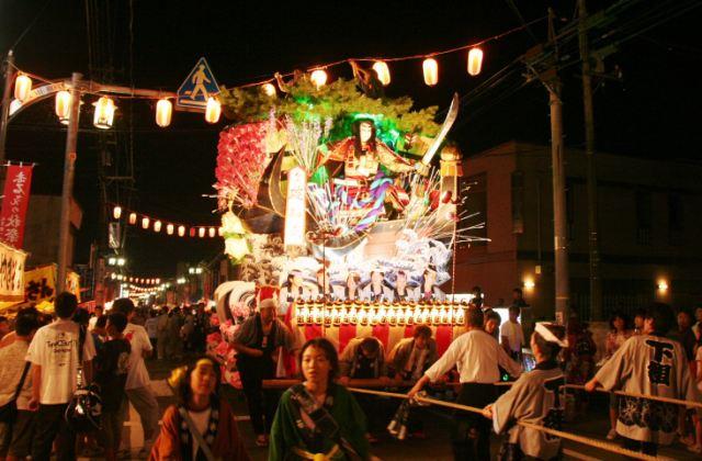 Satoshi Shiga Wake Shrine annual festival (Hizume autumn festival)