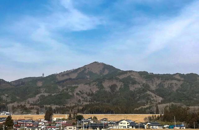 鯨山(岩手県大槌町)