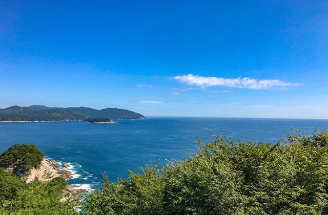 崎山展望台・野島