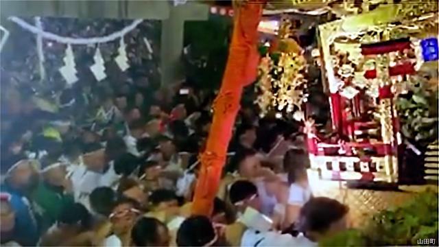 山田の秋祭り