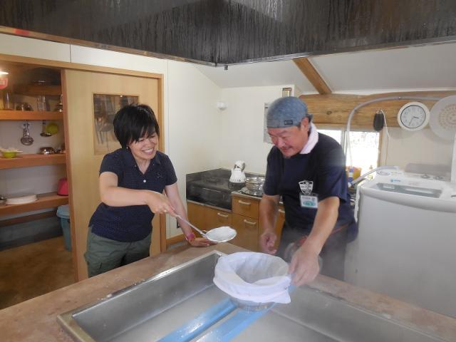塩作り体験