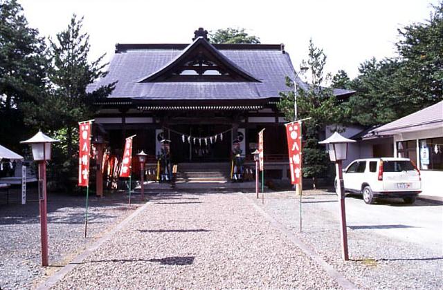軽米八幡宮