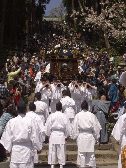 鹽竈神社花まつり