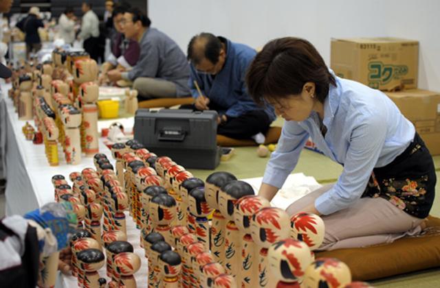 全日本こけしコンクール・白石市地場産品まつり