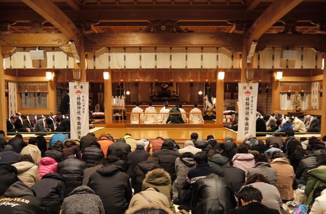 竹駒神社歳旦祭