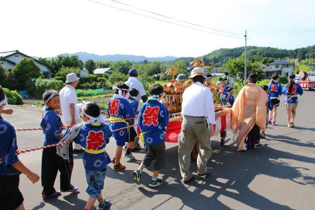 坂元神社夏祭り