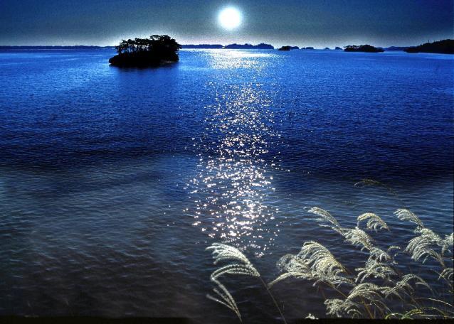 「月の松島」in観瀾亭