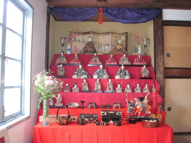 宮床歴史の村のひな祭り