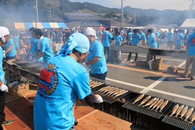 第22回 おながわ秋刀魚収獲祭2019