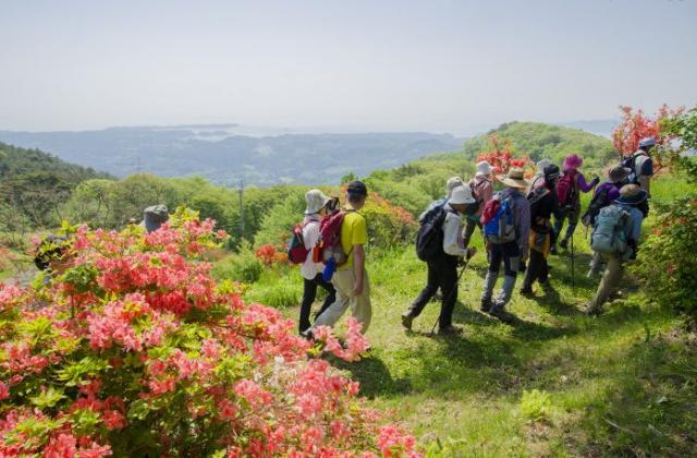 田束山遊歩道・行者の道