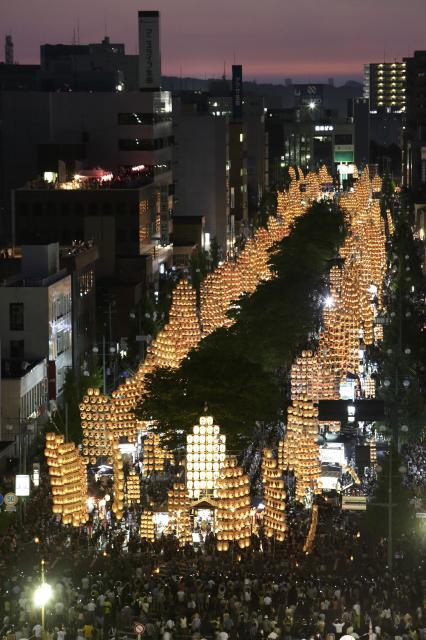 【2020年度中止】秋田竿燈まつり
