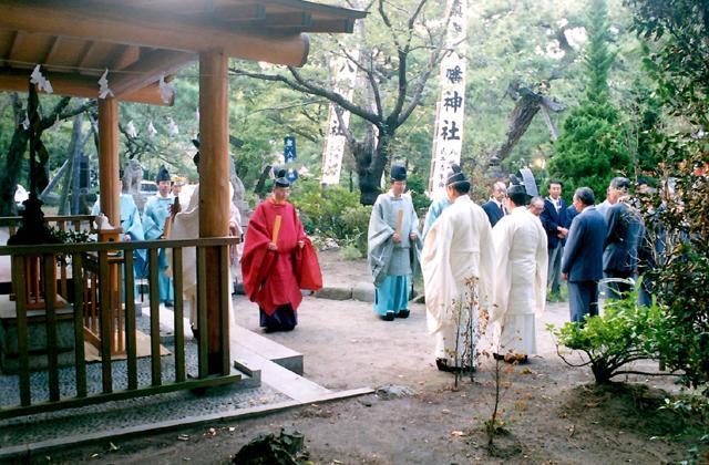八幡神社祭典