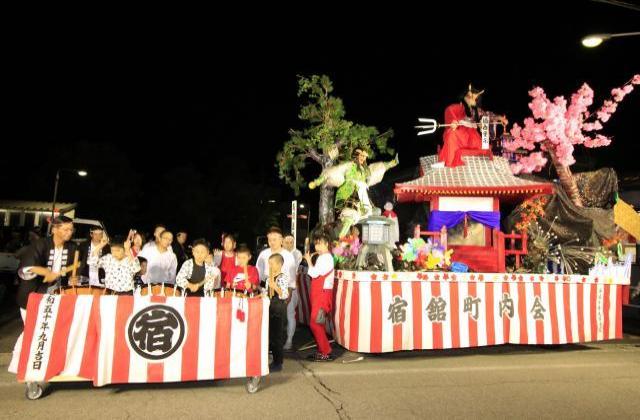 浅舞八幡神社祭典