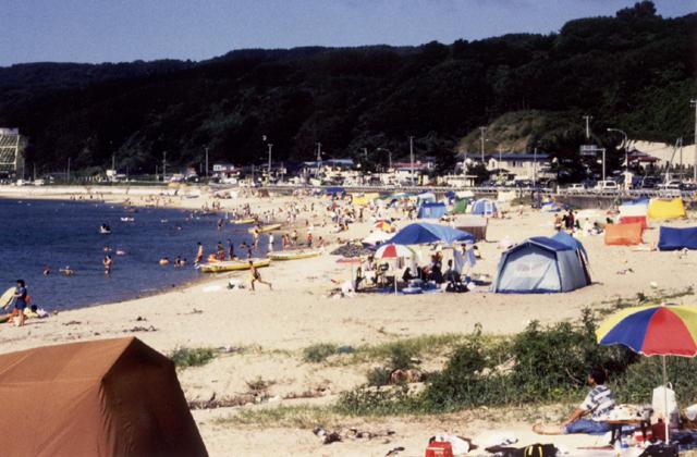 戸賀海水浴場