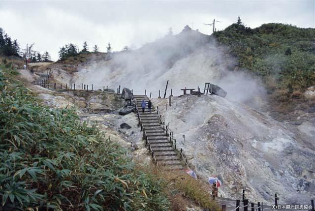 後生掛の火山現象