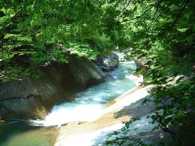 湯瀬渓谷ハイキングコース