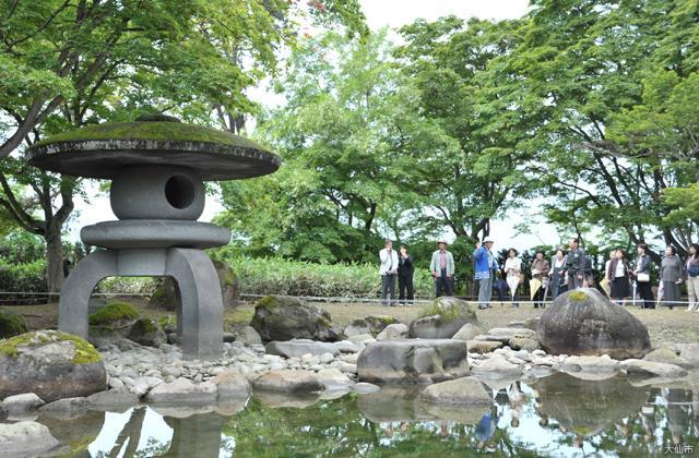 国指定名勝「旧池田氏庭園」