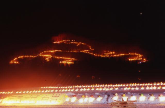 白岩城址燈火祭【2021開催中止】