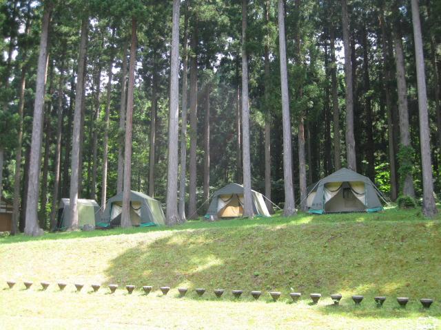 素波里キャンプ場