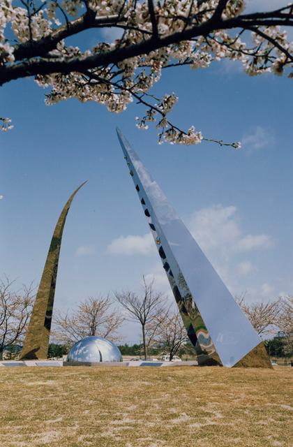 八郎潟干拓地入植記念碑