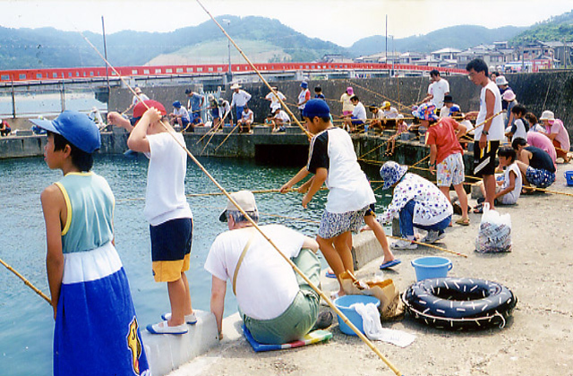 遊魚センター(海洋釣堀)