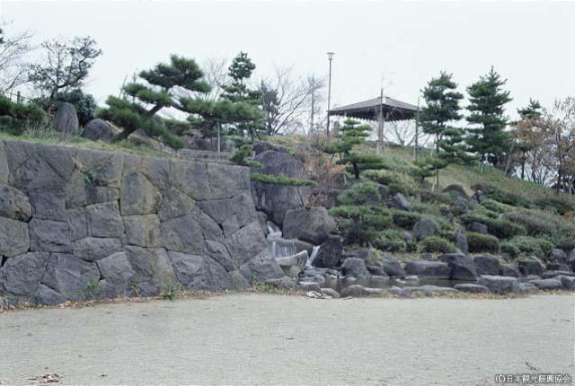 亀ヶ崎城跡