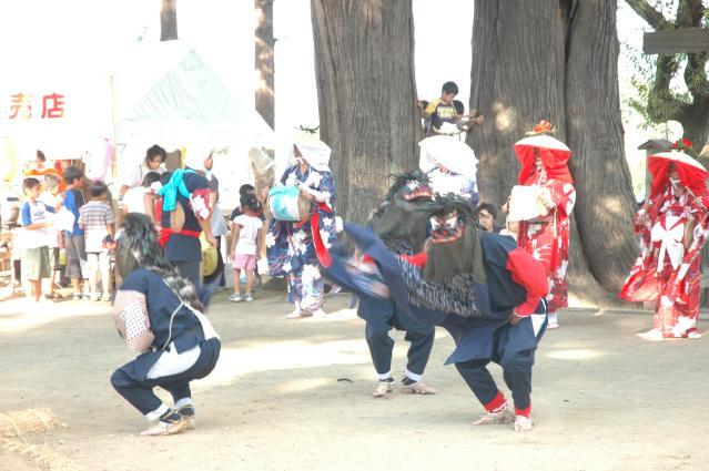 五十川獅子踊