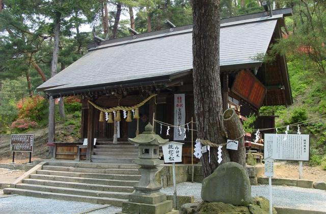 建勲神社(山形県天童市)