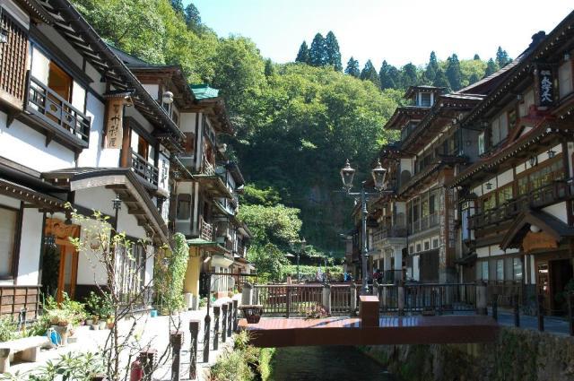 銀山温泉(町並み)