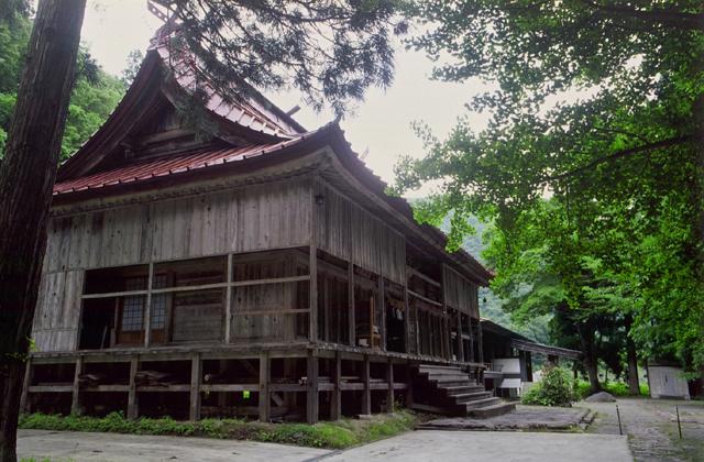 口之宮湯殿山神社(旧本道寺)
