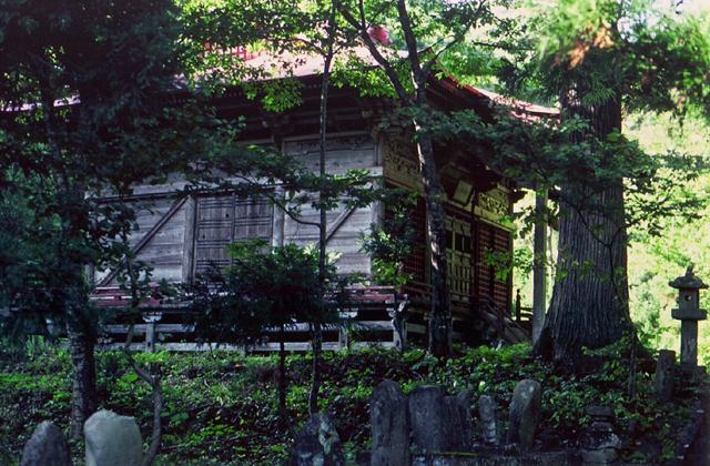 八聖山金山神社(旧、八聖山不動明王)