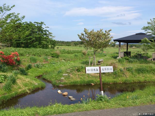 堺田分水嶺