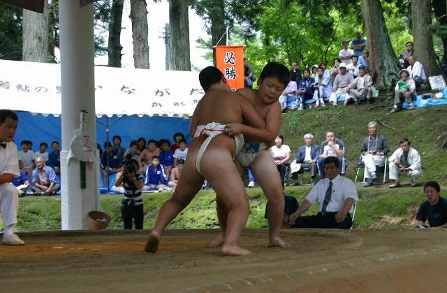 奉納さばね山相撲大会