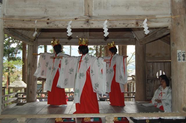 安久津八幡神社春まつり