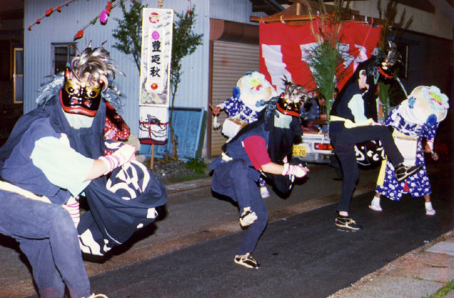 中獅子踊り