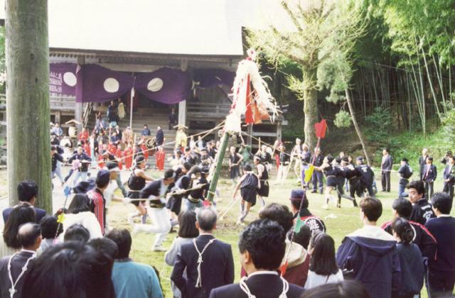 鳥海山大物忌神社蕨岡口之宮例大祭(上寺まつり)