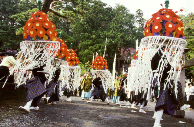 鳥海山大物忌神社吹浦口の宮例大祭(吹浦祭)