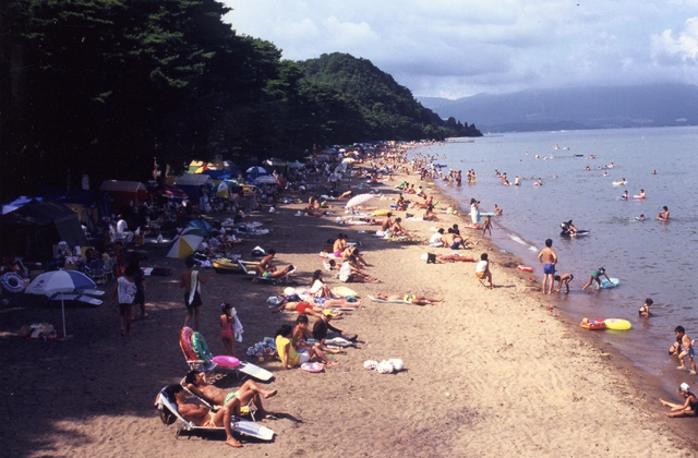 崎川浜湖水浴場