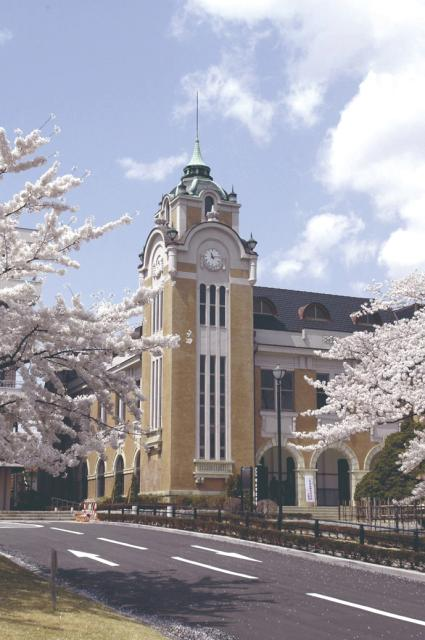 郡山公会堂の桜
