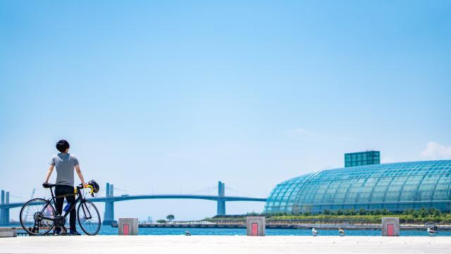 小名浜アクアマリンパーク サイクルステーション
